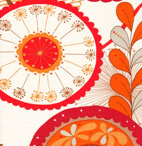 Valori Wells Wrenly Home Decor Fabric - Ingrid - Cinnamon