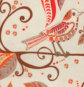 Valori Wells Wrenly Home Decor Fabric - Wren - Cinnamon