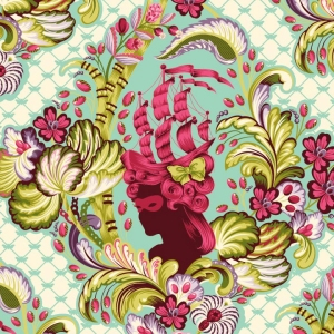 Tula Pink Parisville Laminate Fabric