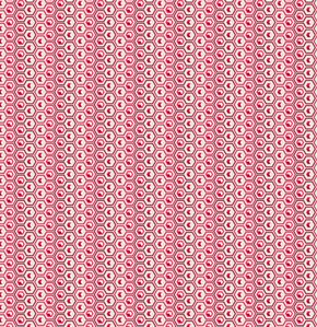 Tula Pink Prince Charming Voile Fabric - Hex Box - Coral