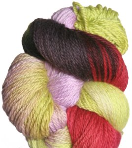 Lorna's Laces Shepherd Worsted Yarn - '11 December - Ribbon Candy