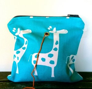 Top Shelf Totes Yarn Pop - Single - Turquoise Giraffe