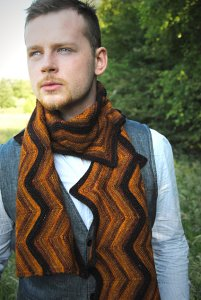 Madelinetosh Tosh Merino Light Creekbed Scarf Kit - Scarf and Shawls