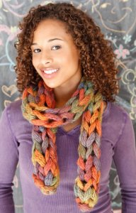 Berroco Link Wink Scarf Kit - Scarf and Shawls