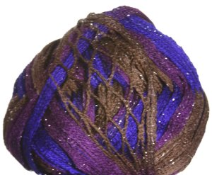 Plymouth Joy Metallic Yarn - 02 Purple/Burgundy