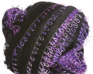 Plymouth Joy Prism Yarn - 104 Black, Purple