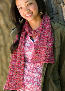 Lorna's Laces Shepherd Sock Plethora Scarf Kit - Scarf and Shawls
