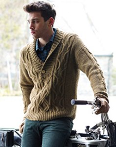 Rowan Lima Moorhouse Pullover Kit - Mens Sweaters