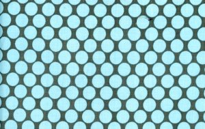 Amy Butler Lotus Fabric - Full Moon Polka Dot - Slate
