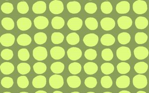 Amy Butler Love Fabric - Sun Spots - Olive