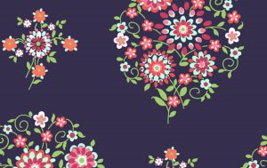 Amy Butler Love Fabric - Memento - Midnight