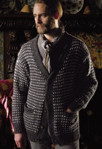 Rowan Cocoon Wheatley Cardigan Kit - Mens Cardigans