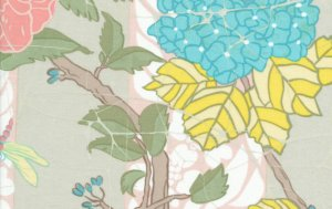 Melissa White Fairlyte Garden Fabric - Bug Hunt - Faded