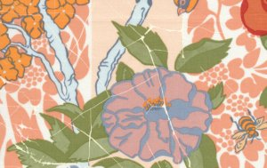 Melissa White Fairlyte Garden Fabric - Bug Hunt - Nostalgic