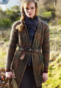 Rowan Colourspun Edna Jacket Kit - Women's Cardigans
