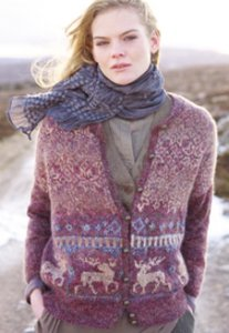 Rowan Colourspun Whilhelmina Cardigan Kit - Women's Cardigans