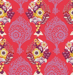 Anna Maria Horner Innocent Crush Fabric - LovesMe LovesMeNot - Petal