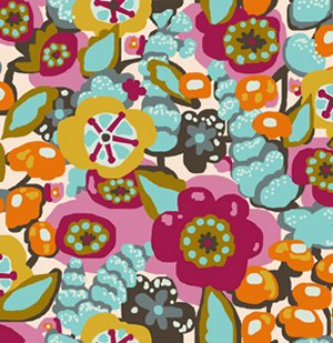 Anna Maria Horner Innocent Crush Fabric - First Impression - Fruit