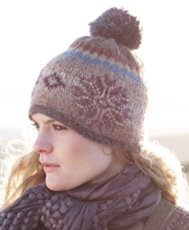 Rowan Colourspun and Kid Classic Hat Kit - Hats and Gloves