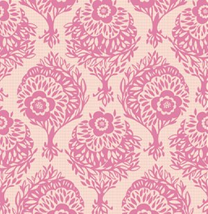 Anna Maria Horner Innocent Crush Fabric - Woodcut - Perfect