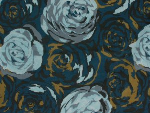 Anna Maria Horner Innocent Crush Voile Fabric - Turn of Events - Indigo