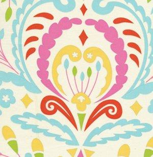 Dena Designs Kumari Garden Fabric   Sujata   Pink