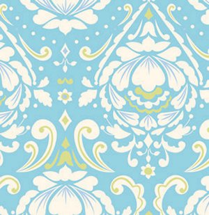 Dena Designs Taza Fabric - Medallion - Aqua