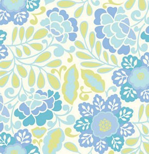 Dena Designs Taza Fabric - Little Navina - Blue