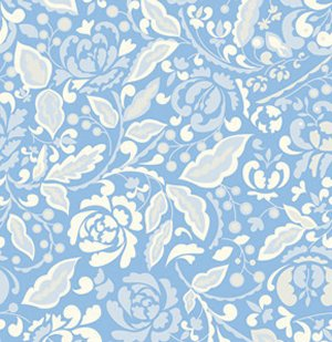 Dena Designs Taza Fabric - Cynthia - Blue