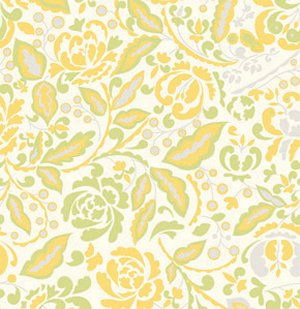 Dena Designs Taza Fabric - Cynthia - Yellow