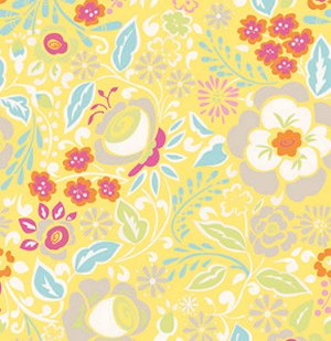 Dena Designs Taza Fabric - Lisa - Yellow