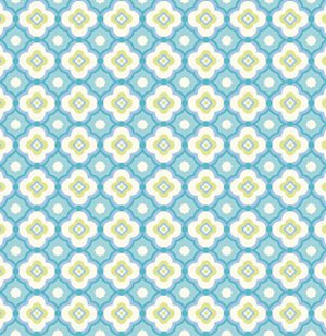Dena Designs Taza Fabric - Geo - Aqua