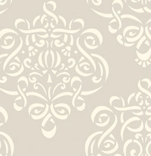 Dena Designs Taza Fabric - Ribbon Damask - Neutral