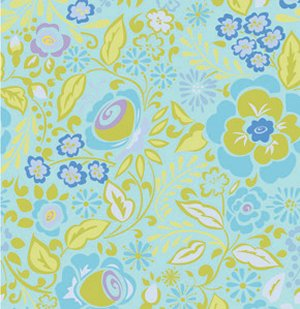 Dena Designs Taza Fabric - Caroline - Blue