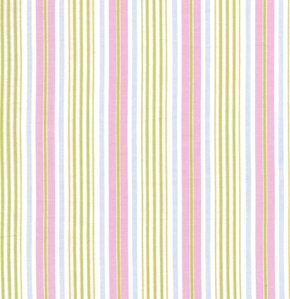 Tanya Whelan Delilah Fabric - Stripe - Green
