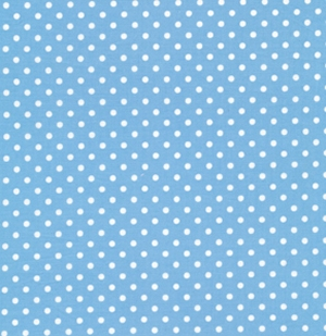 Tanya Whelan Delilah Fabric - Dots - Blue