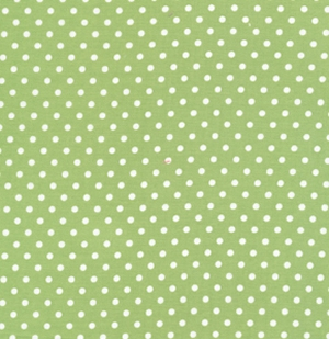 Tanya Whelan Delilah Fabric - Dots - Green