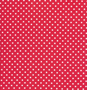 Tanya Whelan Delilah Fabric - Dots - Red