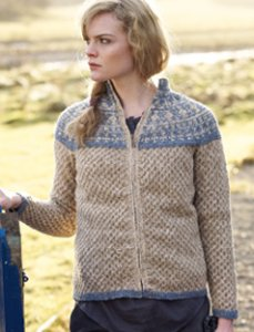 Rowan Fine Tweed Valdis Cardigan Kit - Women's Cardigans