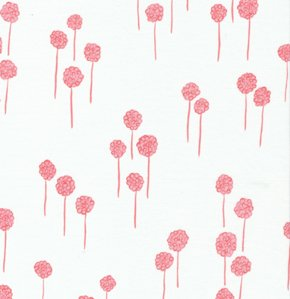 Valori Wells Nest Voile Fabric - Berries - Rose