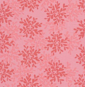 Valori Wells Nest Fabric - Leaves - Rose