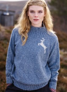 Rowan Fine Tweed Thora Pullover Kit - Women's Pullovers