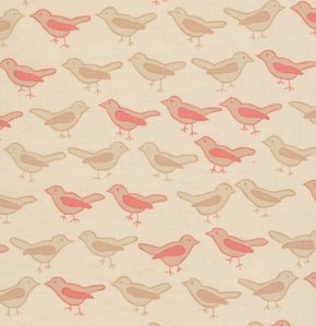 Valori Wells Nest Fabric - Birds - Twig