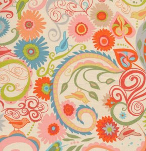 Valori Wells Nest Fabric - Paisley - Autumn