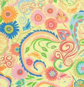 Valori Wells Nest Fabric - Paisley - Summer