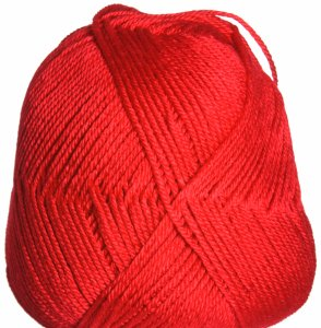 Red Heart Soft Solid Yarn - 5142 Cherry Red