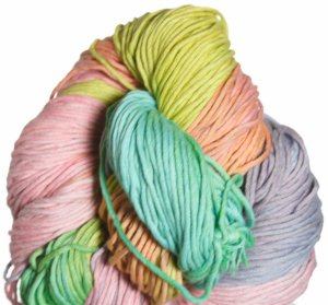 Araucania Ulmo Multi Yarn - 709 Rust, Lime, Teal Multi