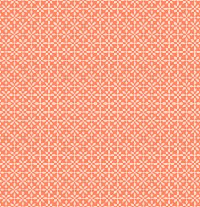 Jenean Morrison Silent Cinema Fabric - Front Row - Orange