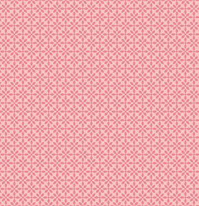 Jenean Morrison Silent Cinema Fabric - Front Row - Pink