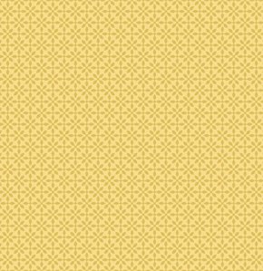 Jenean Morrison Silent Cinema Fabric - Front Row - Yellow
